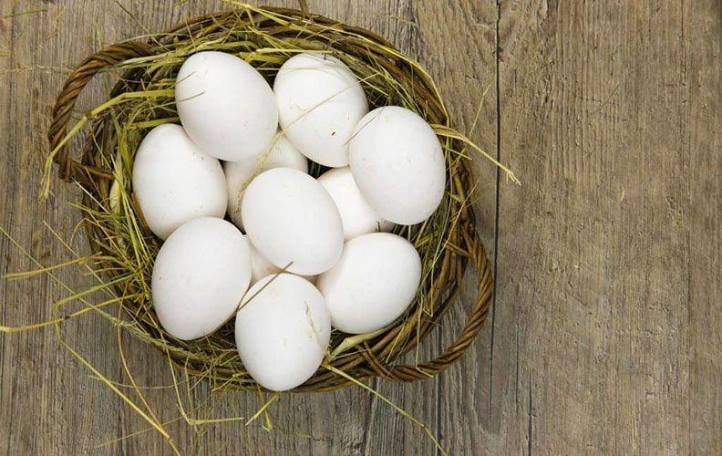Яйца кур барбезье